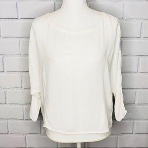 🌵 BB Dakota dolman sleeves white top